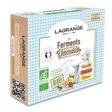 Ferments bio vanille, fraise et citron pour yaourtière Lagrange 385002 - BVM -