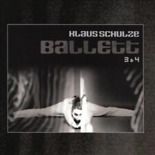 KLAUS SCHULZE - BALLETT 3 & 4 [DIGIPAK] NEW CD