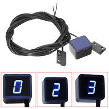 LED Digital Gear Indicator For Motorbike Motorcycle Meter Shift Lever Sensor