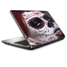 "Universal Laptop Skins wrap for 15"" - Sugar Skull Girl"
