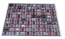1997 Lucasfilms Decipher Star Wars Rebel Trading Card Uncut Sheet (100 Cards)