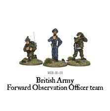 British Army Forward Observer Officers Bolt Action Warlord Games 28mm