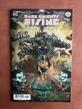 Dark Nights Rising: The Wild Hunt #1 (2018) 9.4 NM DC Metal Tie In Foil Cover