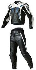 BMW MOTORCYCLE LEATHER SUIT MOTORBIKE RACING SUIT MEN BIKER JACKET PANT S-4XL