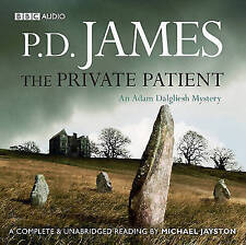 12 CD AUDIO BOOK - The Private Patient by P. D. James (CD-Audio, 2009)