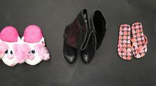 Girls Bundle Of Shoes. Age 7-8. Size 2. Pineapple, F&F. <A3052