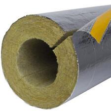 35m Rohrschale alukaschiert 20mm x 15mm Rohrisolierung Heizungsrohr Steinwolle
