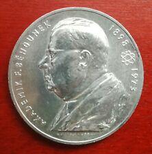 Medaille aus Silber Tschechien Akademiker Behounek 1898 - 1973 Tschechoslowakei