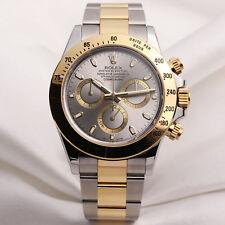 Rolex Daytona 116523 acciaio in Oro e Quadrante Color Argento