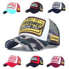 Trucker Basecap Mütze Unisex Must-Have Vintage Baseball Cap Hut Netz Mesh Hat