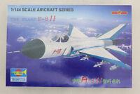 China PLAAF F-8 J-8 II 1/144 Military Aircraft Airplane Model Gift