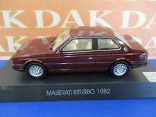 Die cast 1/43 Modellino Auto Maserati Biturbo 1982