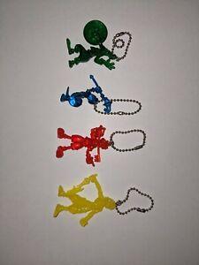 Super Rare 2013 Kingdom Hearts I Keychains Transparent Sora, Riku, Goofy, Donald