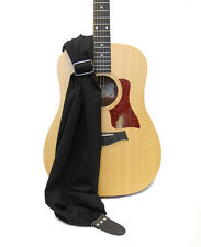 "CAPTURING COUTURE GUITAR STRAP BLACK SCARF #GTRSF-BLCK 12""-14""W 45""-60""L"