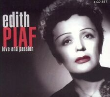 Édith Piaf : Love and Passion CD 4 discs (2001)