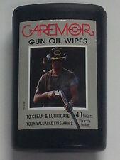 Gun Oil Wipes  - Caremor -  2 packs