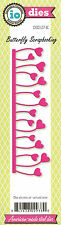 Heart Tulip Border American Made Steel Die Impression Obsession DIE127-K New