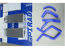 aluminum radiator +silicone hose kit Honda CR 250 R/CR250R 2-stroke 1985-1987