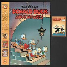 The Carl Barks Library in Color of Walt Disney's Donald Duck 8 NM + Card NM