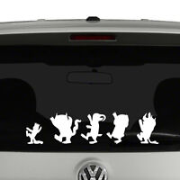 Where The Wild Things Are Silhouettes Vinyl Decal Sticker