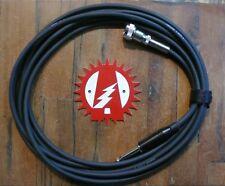 "Alchemy Audio Cable Accordion Harmonica Harp Lap Steel 12 Foot 1/4"" Straight"