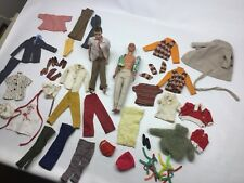 Vintage 1960 And 1968 Ken Dolls With Clothes And Accessories