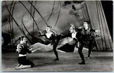 "1956 Amsterdam RPPC Real Photo Postcard ""Kaleidoscoop - Ballet der Lage Landen"""