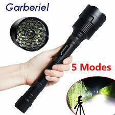 New 80000LM 14xT6 CREE XML Tactical Led Flashlight Super Bright Torch Light USA