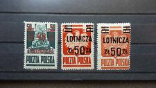 Polen 1947 / Kat. Fischer Nr. 441 – 442 a , b  442 a Geprüft (Mü