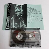 QUEEN LIVE AT HAMMERSMITH ODEON LONDON 26.12.1979 CASSETTE TAPE
