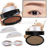 Natural Eyebrow Powder Brow Stamp Palette Delicated Shadow Definition for Beauty