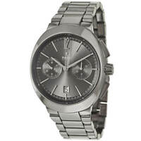 Rado Men's Watch D-Star Dark Grey Dial Silver Tone Ceramic Bracelet R15198102