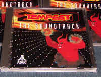 TEMPEST AUDIO CD Atari Jaguar NEW Factory Sealed