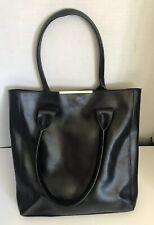 BCBG Maxazria Black Leather Purse/tote
