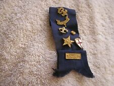 Lot of Boy Scouts Pins Medals on Ribbon