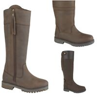 WATERPROOF BOOT LADIES FULL GRAIN WAXED LEATHER BOOTS EVERYDAY OR EQUESTRIAN