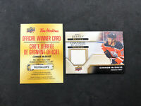 2019-20 UPPER DECK TIM HORTONS CONNOR MCDAVID GAME-USED JERSEY RELIC #J-CM