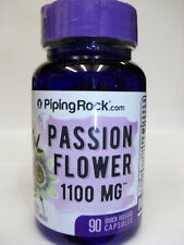 Passion Flower  1100 mg  90 Capsules  Herbal Supplement