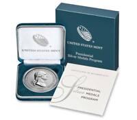 1789-2018 U.S. George Washington 1 oz Silver Presidential Medal GEM BU SKU55018