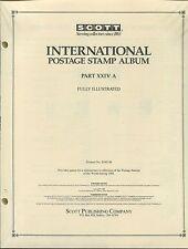 Scott International Postage Stamp Album #24A 1988 United States Korea 358 PAGES