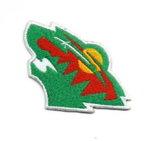 NHL Minnesota Wild sport P345 Embroidered Iron on Patch High Quality Hat Jacket