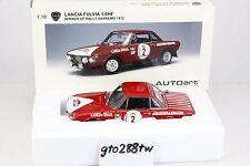 AUTOart 1:18 scale Lancia Fulvia 1.6HF - Winner of Rally Sanremo 1972(VERY RARE)