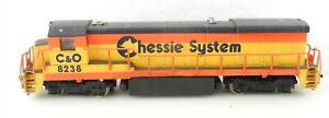 Bachmann HO #8238 C&O Chesapeake & Ohio B23-7 POWERED DIESEL LOCOMOTIVE ~ F36