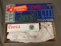 HO SCALE ROUNDHOUSE COORS 5417 36' BILLBOARD REEFER KIT