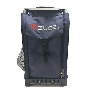 Zuca Blue Bag Black Frame Ice Skating Figure Skating Twinkle Wheel Lights Travel