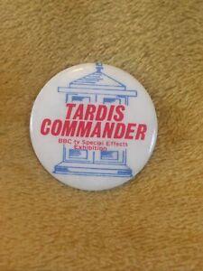 Dr Who Tardis Commander Badge