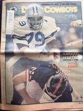 """ NFL Dallas Cowboys Official Weekly Magazine November, 7, 1981; Vol. 7, No.21"