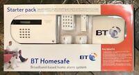 BT homesafe starter pack broadband based home alarm system - new in box