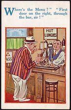 Hutson Brothers (H.B. Ltd) Postcard - Comic Saucy - Postcard No. 4644 - By SH