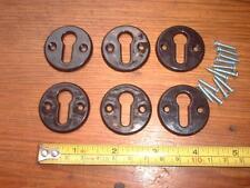 6 stemmi in plastica/Chiave Foro Protettori ma resistente etc Tuta manopole in bachelite